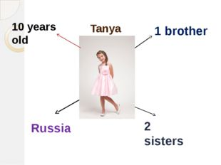 Tanya 1 brother 2 sisters Russia 10 years old