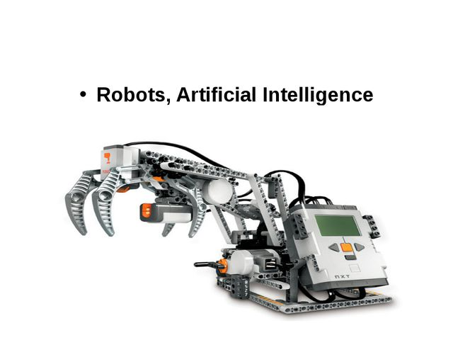 Robots, Artificial Intelligence