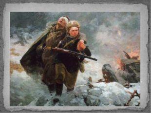 М.И. Самсонов. Сестрица. 1954 Среди военных произведений особо выделяется кар