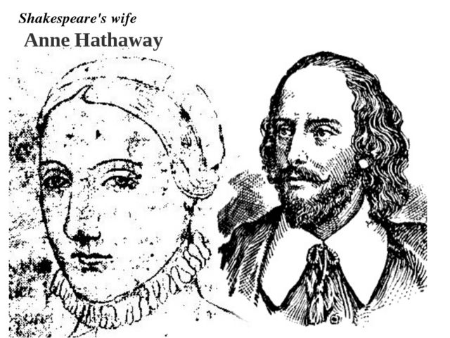 Anne Hathaway Shakespeare's wife