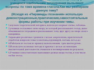 При подготовке к ЕНТ по казахскому языку у учащихся наибольшие затруднения в
