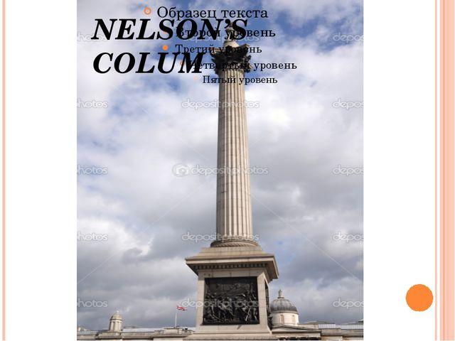 NELSON'S COLUM