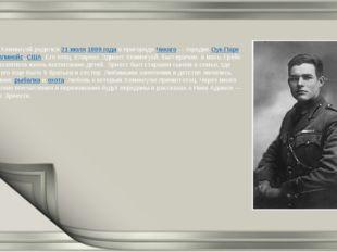 Эрнест Хемингуэй родился21 июля1899годав пригородеЧикаго— городкеОук-