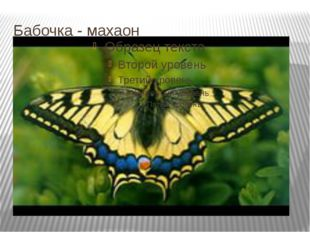 Бабочка - махаон