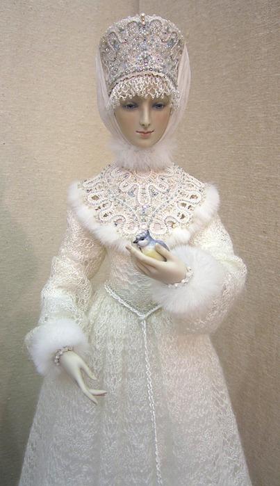 Красивые куклы снегурочки