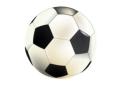 Рисунок футбольного мяча на белом фоне в векторе Векторные и…