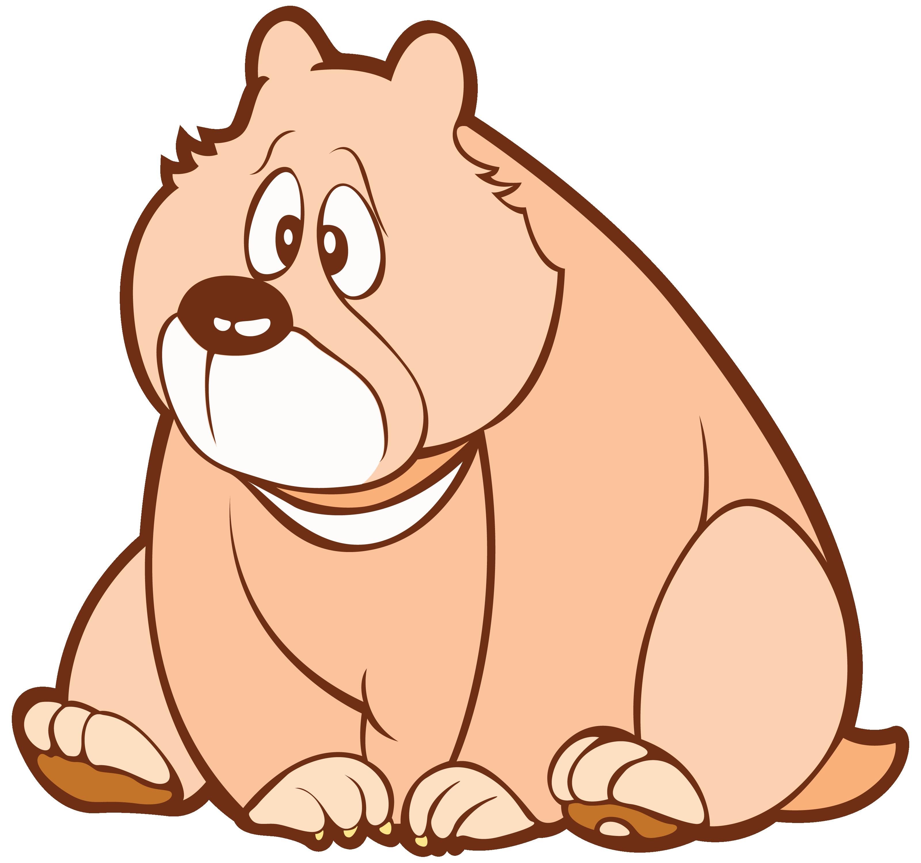 Портреты смешные, рисунок медведь прикольный