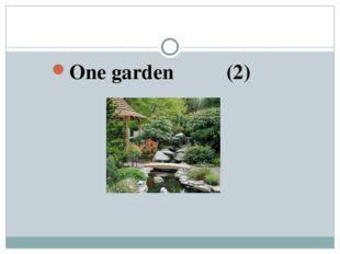 One garden (2)