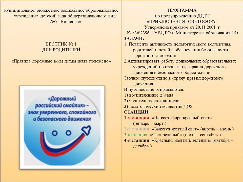 Мониторинг «По безопасному поведению на дороге На начало 2013-2014 учебного г...