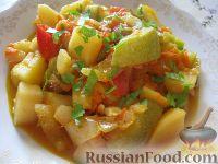 Фото приготовления рецепта: Овощное рагу вегетарианское - шаг №11