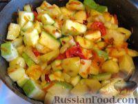 Фото приготовления рецепта: Овощное рагу вегетарианское - шаг №7