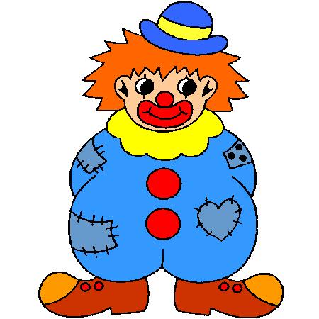 Раскраска Клоун