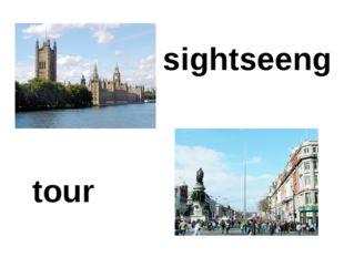sightseeng tour