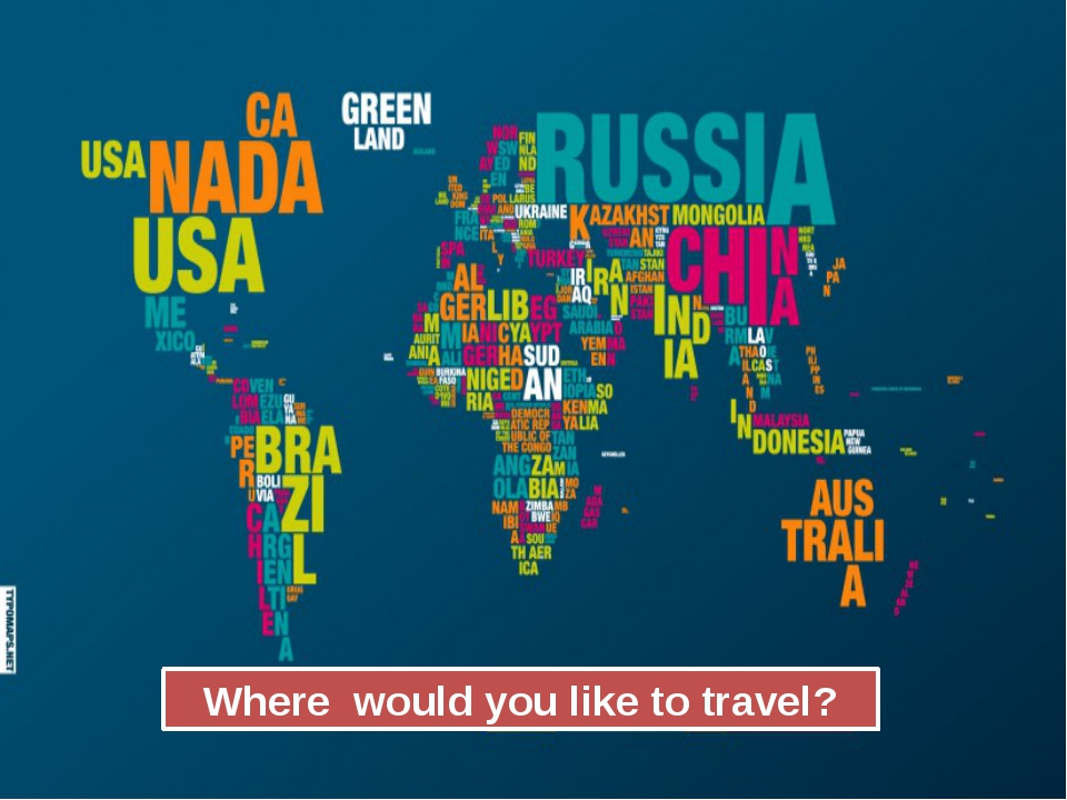 Where would you like to travel?