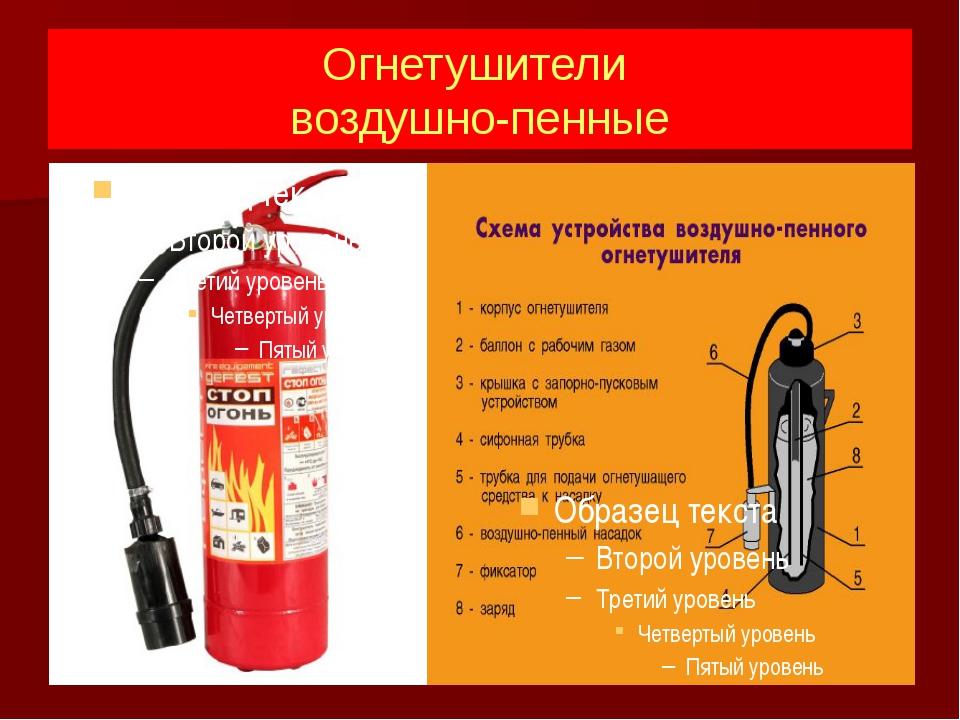 фото огнетушителей в разрезе этом уроке научитесь