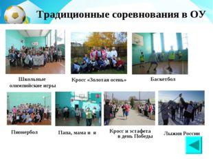 Кросс и эстафета в день Победы Баскетбол Лыжня России Кросс «Золотая осень»