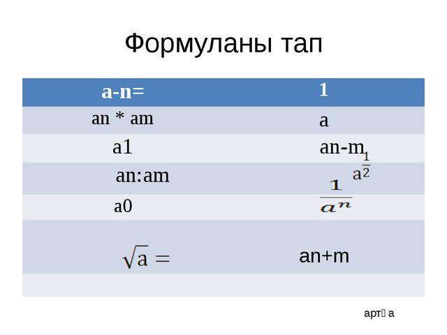 10 негізі бойынша алынған логарифм ондық логарифм деп аталады.