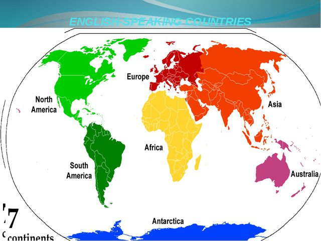 ENGLISH-SPEAKING COUNTRIES Prezentacii.com