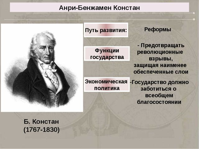 Путь развития: Реформы Функции государства - Предотвращать революционные взры...