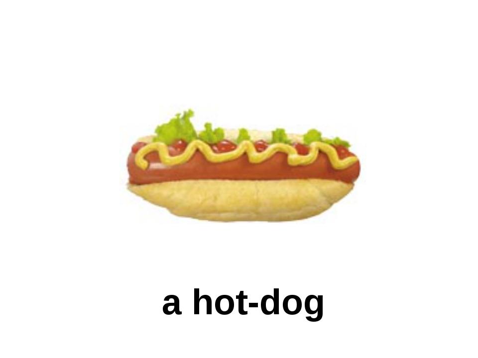 a hot-dog