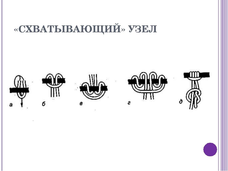 «СХВАТЫВАЮЩИЙ» УЗЕЛ
