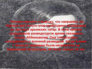 Генерал пришел к выводу, что направить на Керченский полуостров необходимо