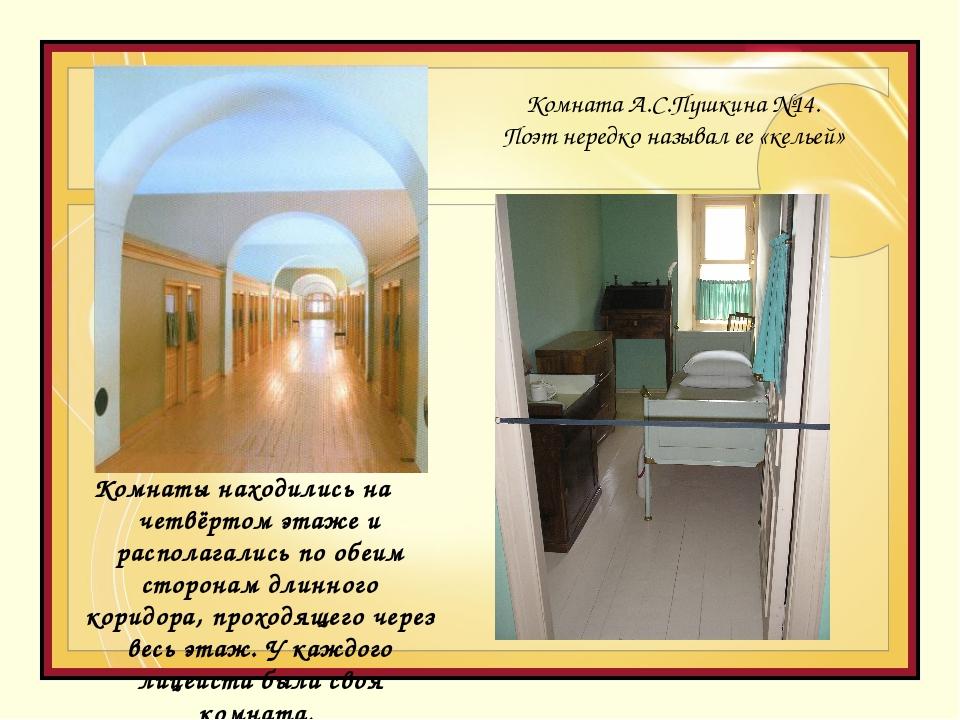 Комнаты находились на четвёртом этаже и располагались по обеим сторонам длинн...