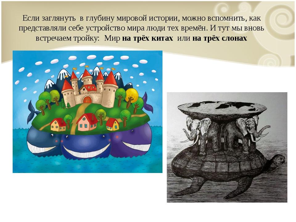 Если заглянуть в глубину мировой истории, можно вспомнить, как представляли с...
