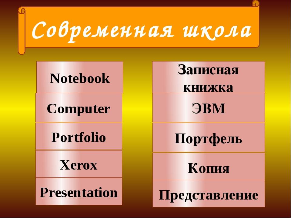 Notebook Computer Portfolio Записная книжка ЭВМ Портфель Xerox Копия Современ...
