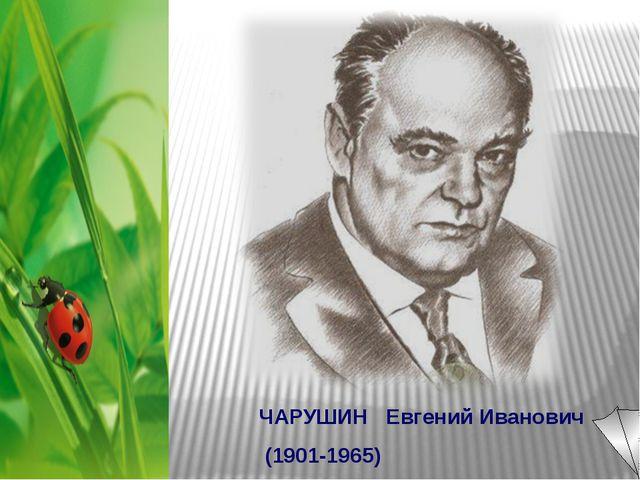 ЧАРУШИН Евгений Иванович (1901-1965)