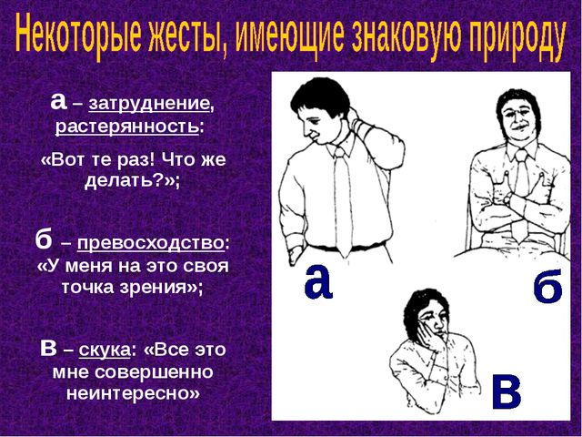 а – затруднение, растерянность: «Вот те раз! Что же делать?»; б – превосходст...