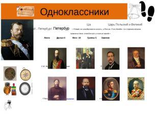 Одноклассники Никола́й II Алекса́ндрович — Император Всероссийский, Ца Царь П