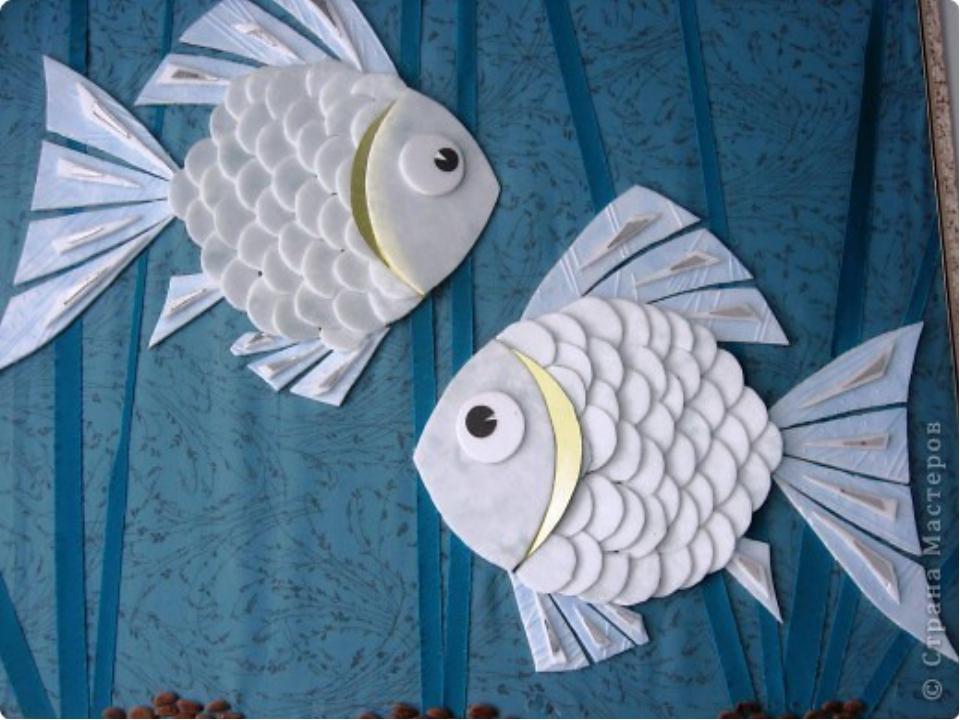 Рыбки своими руками поделки