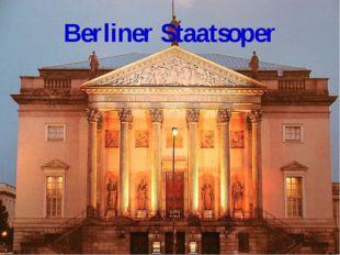 Berliner Staatsoper
