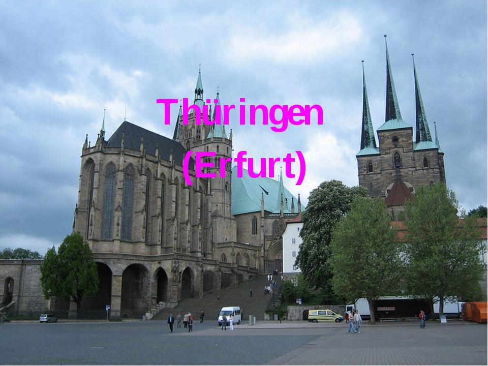 Thüringen (Erfurt)