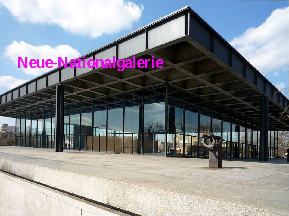 Neue-Nationalgalerie