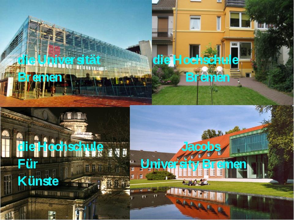 die Universität die Hochschule Bremen Bremen die Hochschule Jacobs Für Univer...
