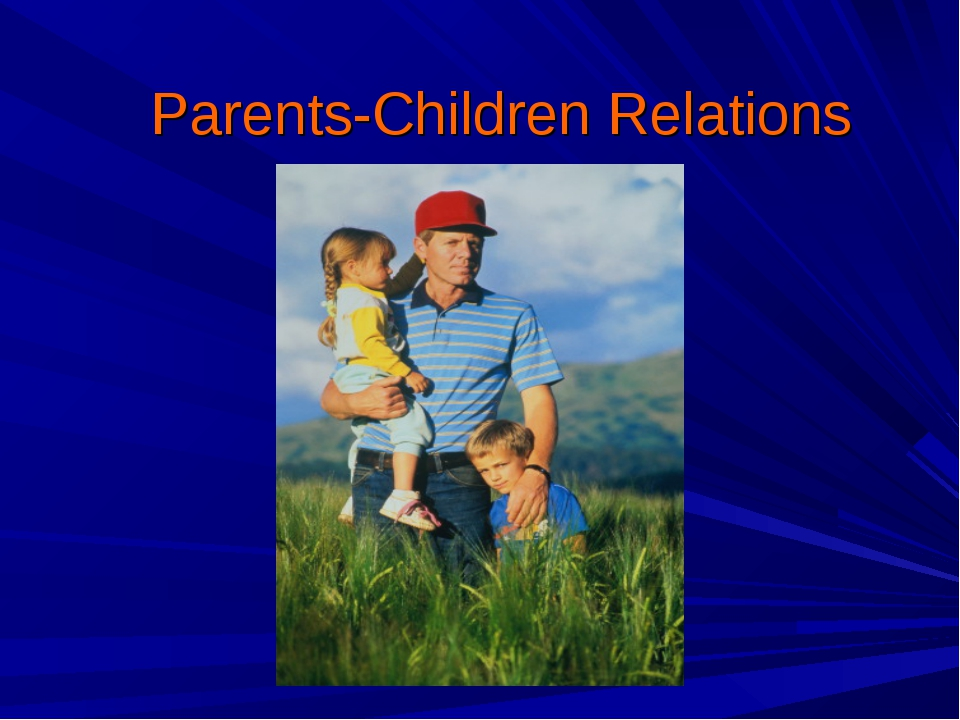 Parents-Children Relations