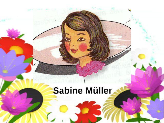 Sabine Müller