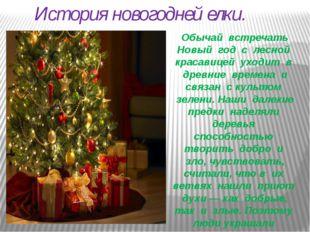История новогодней елки. Обычай встречать Новый год с лесной красавицей уход