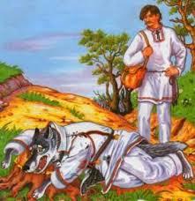 Картинки по запросу как волк вздумал хлеб печь картинки