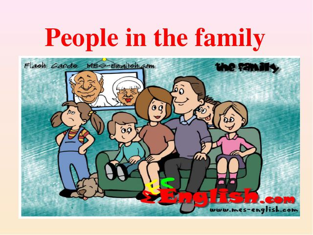 People in the family
