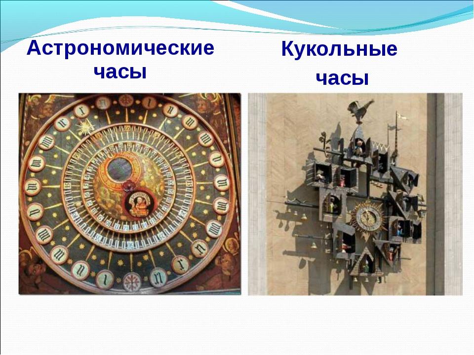 Астрономические часы Кукольные часы