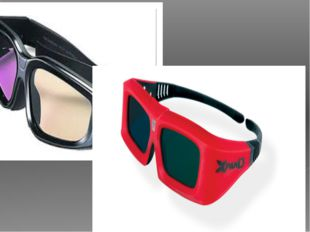 In the 3-D business, there are two major categories of3-D glasses: passive a
