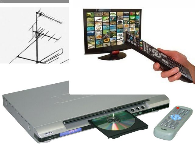 There are three major ways to receive television broadcasts. They include Br...