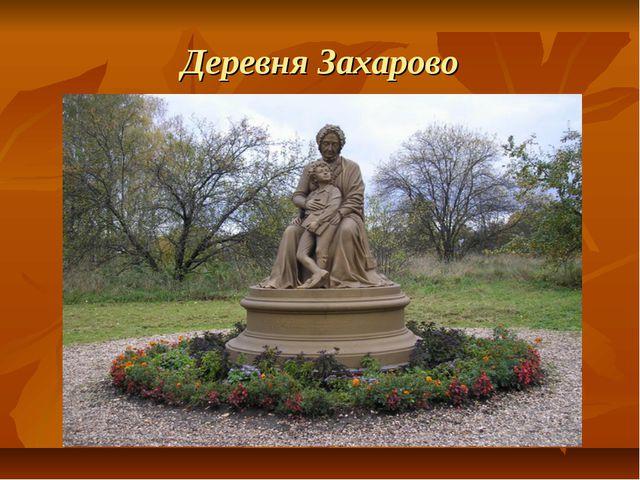 Деревня Захарово