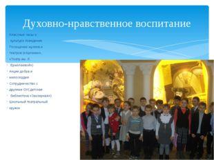 Классные часы о культуре поведения Посещение музеев и театров («Арлекин», «Те