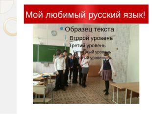 Мой любимый русский язык!