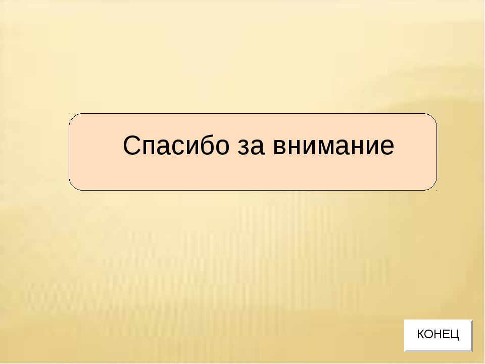 Спасибо за внимание КОНЕЦ
