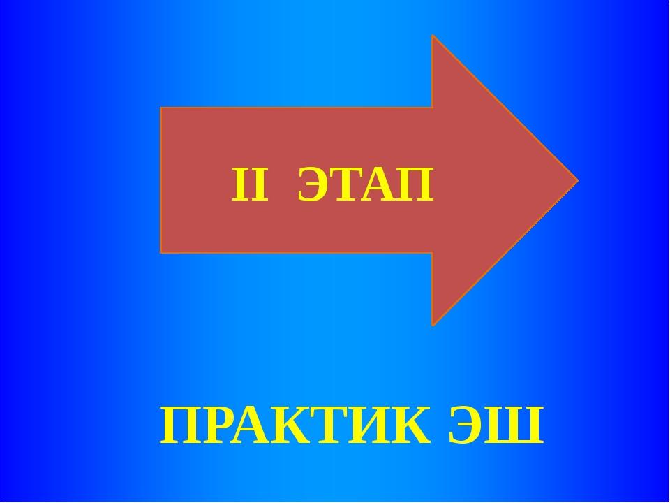 II ЭТАП ПРАКТИК ЭШ